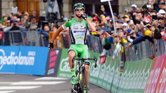 Giro d'Italia, impresa del baby Ciccone. Jungels nuova maglia rosa, Landa si ritira