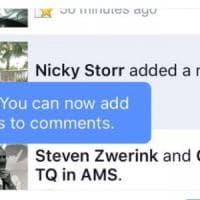 Facebook, novità in sordina: