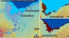 Anche su Marte cerano gli tsunami