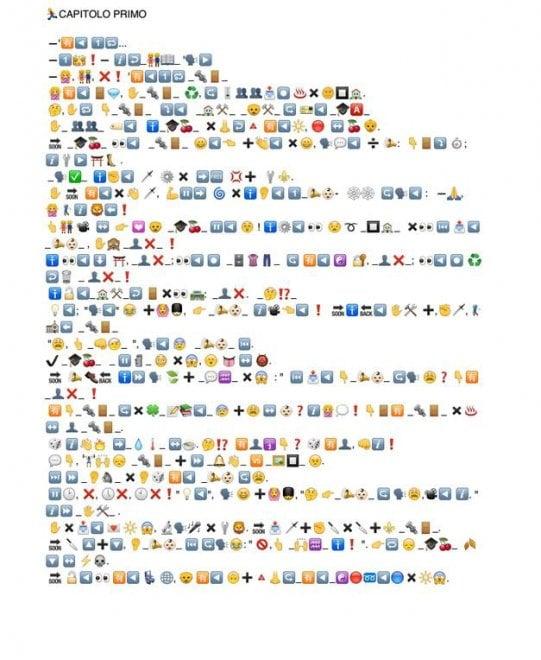 Da Pinocchio a EmojiBama: ecco le traduzioni in emoji