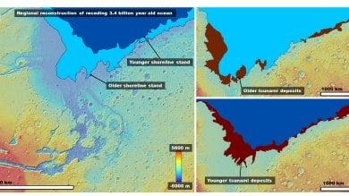 Anche su Marte c'erano gli tsunami