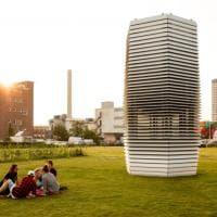 Rotterdam, ecco la torre mangia-smog