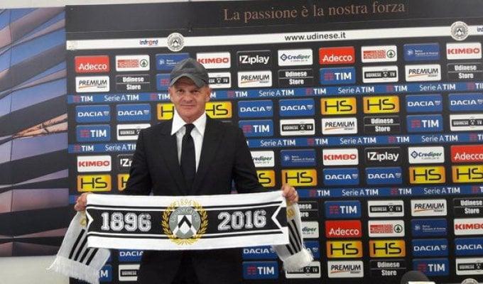 """Udinese, Iachini: """"Grande stadio e società perfetta, è bello essere qui"""""""