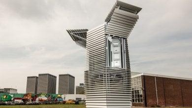 Olanda, la torre mangia-smog   foto   prototipo per l'aria pulita in città