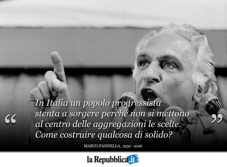 Marco Pannella In Dieci Citazioni Repubblica It