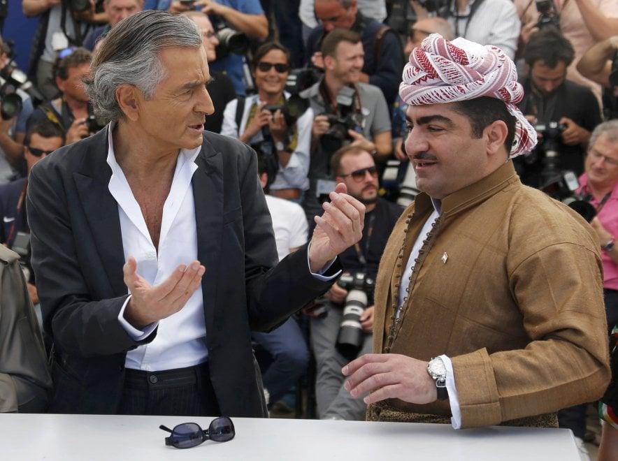 Cannes conquistata dai peshmerga: sulla Croisette c'è anche Barzani