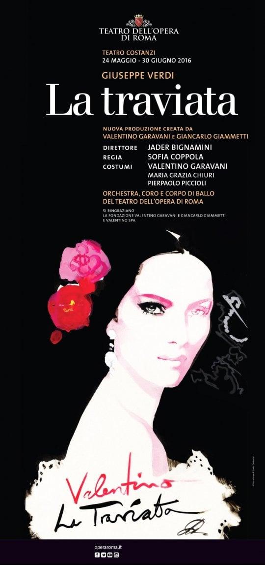 Traviata, un miracolo italo-americano: con Valentino e Coppola è record all'Opera