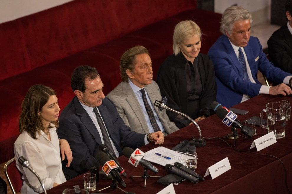 Valentino e Sofia Coppola per la Traviata dei record all'Opera di Roma