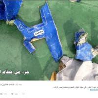 Egyptair, esercito egiziano pubblica le prime immagini dei resti