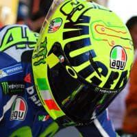 MotoGp, Rossi: casco speciale per il 'Mugiallo'