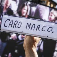 Pannella, l'ultimo saluto laico: in centinaia in piazza Navona