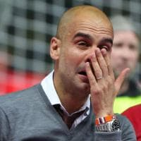 Guardiola in lacrime, saluta il Bayern con la coppa di Germania