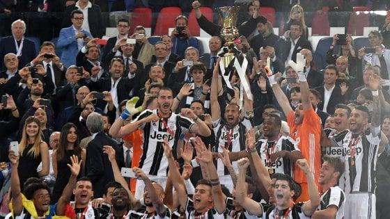Milan-Juventus 0-1, Morata regala un'altra doppietta ai bianconeri. Dopo il campionato, la Coppa Italia