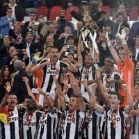 Coppa Italia alla Juve, la festa bianconera