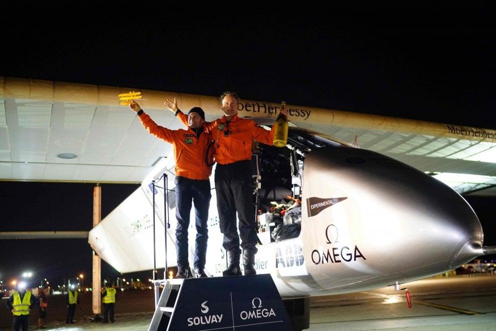 Solar Impulse 2, tappa in Ohio per il giro del mondo senza benzina