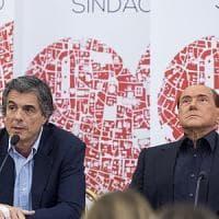 """Berlusconi: """"Centrodestra diviso solo a Roma. Per Renzi comunali saranno primo avviso"""""""