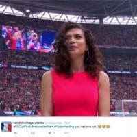 Inghilterra, cantante fa scena muta: niente inno prima della finale di coppa