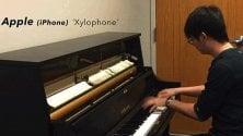 Il pianista che ama le suonerie telefoniche