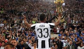 Juventus, resta anche Evra. Per Morata ultimo tentativo