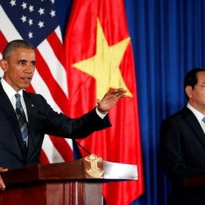 Obama revoca l'embargo di armi al Vietnam dopo 50 anni