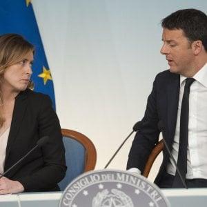 """Renzi: """"Rispettiamo tutti i partigiani"""". Napolitano: """"Offensivo dire no per difendere la Carta"""""""