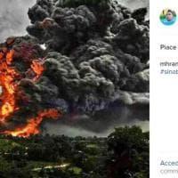 Eruzione apocalittica in Indonesia, il Sinabung uccide