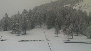 La valle dAosta torna bianca fino a 1400 metri