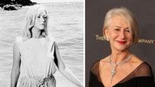 """Helen Mirren, 70 anni:  """"Amo le mie rughe  e tingo i capelli da sola"""""""