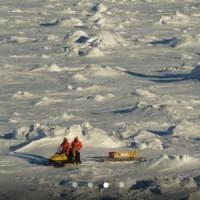 Uno scudo di ghiaccio marino protegge l'Antartide