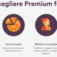 Spotify formato famiglia: fino a 6 account, prezzo ridotto