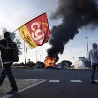 Saint-Nazaire, bloccati alcuni accessi al porto
