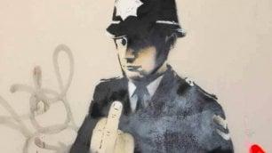 Roma, l'anteprima della mostra di Banksy a Palazzo Cipolla