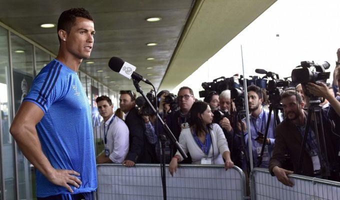 Ronaldo, stop in allenamento: ''Nulla di grave''   ft