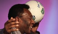 """Pelé: """"Che emozione rivedermi ragazzo ma vorrei giocare la finale olimpica"""""""