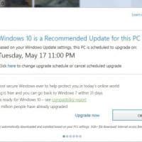 """Windows 10, aggiornamento quasi """"forzato"""""""