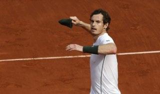 Roland Garros: Murray avanti col brivido, male il doppio Seppi-Fognini
