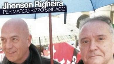 E a Torino il comunista Marco Rizzo arruola Johnson Righeira (con refuso)