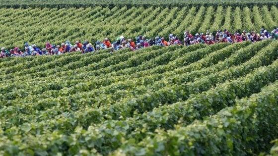 Sprint divini. Al Tour de France ci superano  col rosso