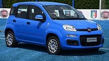 Pandazzurri, Fiat  con la Nazionale -   Foto