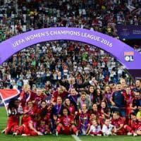 Champions donne, trionfo Lione: il Wolfsburg si arrende ai rigori