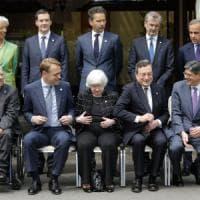 Il G7 s'impegna per la crescita. Il Pil Usa si rafforza poco meno delle attese: +0,8%