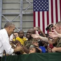 Obama a Hiroshima per