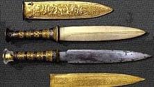 Archeologia, scoperto meteorite nel pugnale di Tutankhamon