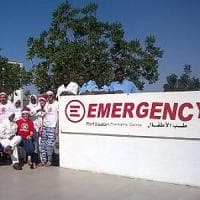 Sudan, il piccolo Amir salvato da medici e infermieri di Emergency
