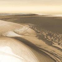 Marte è appena uscito dall'era glaciale