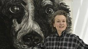 La mostra di Laurie Anderson nel chiostro visitato con Lou Reed