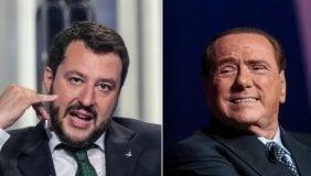 Le idee di Salvini, le battutacce di Silvio