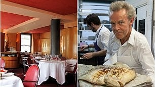 I cento ristoranti migliori d'Europa Francia d'oro, Bottura star italiana
