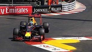 Ricciardo in pole a  Gp Monaco. Vettel in seconda fila con Hamilton