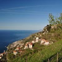Furore e... gli Dei. Costiera Amalfitana dall'alto